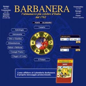 Calendario Oroscopo.Oroscopo Di Barbanera L Almanacco