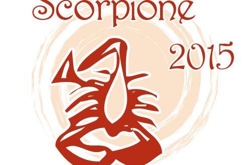 Oroscopo Scorpione 2015
