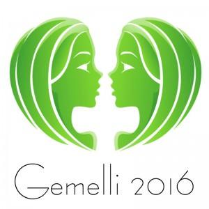 Oroscopo 2016 Gemelli