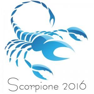 Oroscopo 2016 Scorpione
