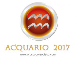 Oroscopo 2017 Acquario