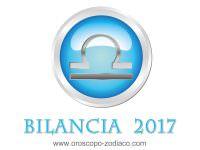 Oroscopo 2017 Bilancia