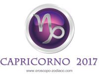 Oroscopo 2017 Capricorno