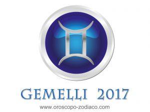 Oroscopo 2017 Gemelli