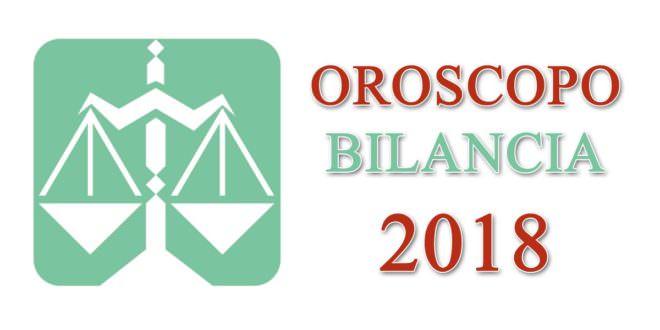 Oroscopo Bilancia 2018