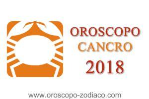 Oroscopo Cancro 2018