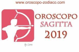 Oroscopo 2019 Sagittario