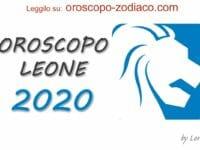 Oroscopo 2020 Leone