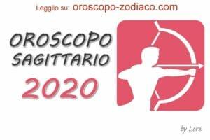 Oroscopo 2020 Sagittario