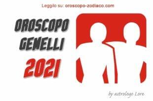 Oroscopo 2021 Gemelli