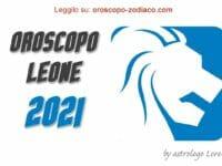 Oroscopo 2021 Leone